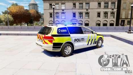 Volkswagen Passat B7 Variant 2012 para GTA 4 esquerda vista