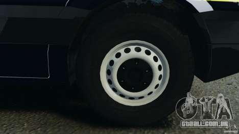 Mercedes-Benz Sprinter Police [ELS] para GTA 4 vista superior