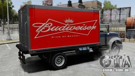 O novo anúncio para caminhão Yankee para GTA 4 vista direita