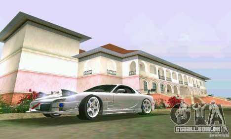 Mazda RX7 tuning para GTA Vice City