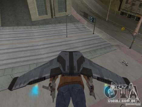 JetWings Black Ops 2 para GTA San Andreas por diante tela