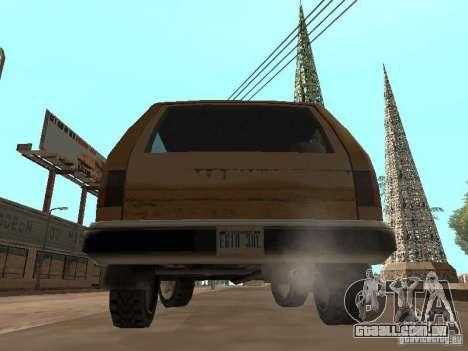 Nova Landstalker para GTA San Andreas vista direita
