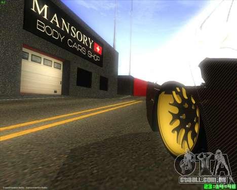 Honda Accord Mansory para GTA San Andreas vista traseira