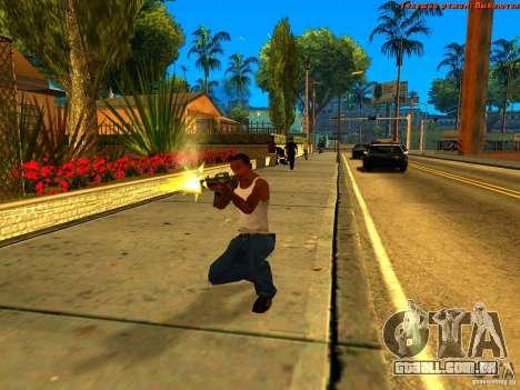 New Animations V1.0 para GTA San Andreas sexta tela