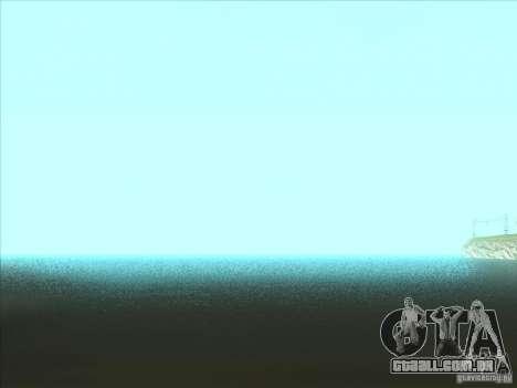 ENBSeries v1.0 para GTA San Andreas por diante tela