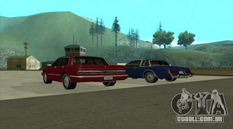 New Majestic para GTA San Andreas esquerda vista