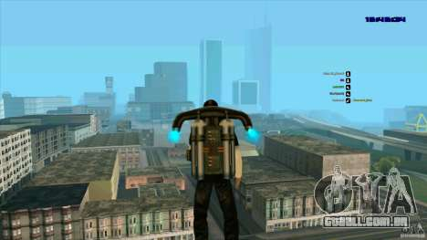 Ed Hardy para GTA San Andreas por diante tela