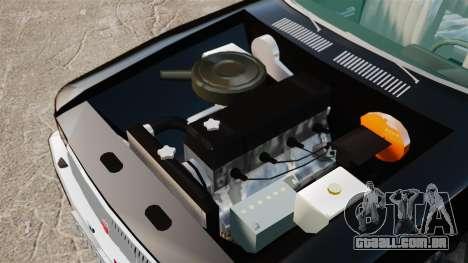 FBI Gaz-3102 para GTA 4 vista de volta