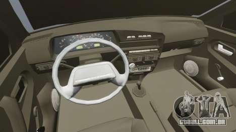 Vaz-2114 para GTA 4 vista lateral