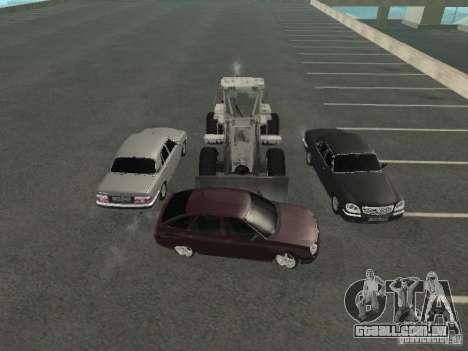 GAZ Volga 31105 para vista lateral GTA San Andreas