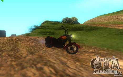 Motorcycle from Mercenaries 2 para GTA San Andreas