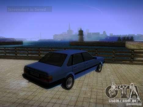 Audi 80 1987 V1.0 para GTA San Andreas vista direita