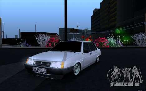 VAZ 21099 estilo Vip para GTA San Andreas