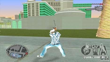 HUD ultra moderno para GTA San Andreas terceira tela