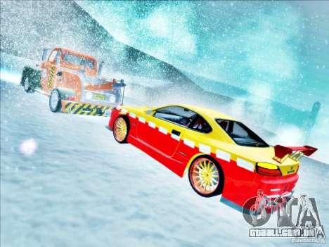 Nissan Silvia S15 Calibri-Ace para GTA San Andreas vista superior