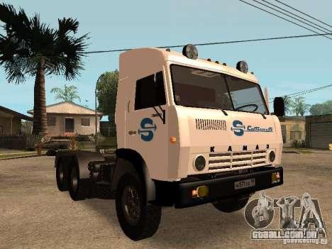 KAMAZ 5410 para o motor de GTA San Andreas