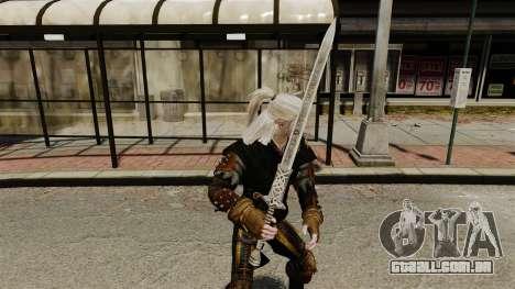 Espada do Witcher v1 para GTA 4 segundo screenshot