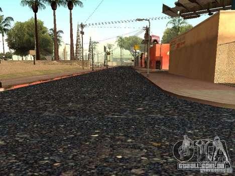 A nova Grove Street para GTA San Andreas oitavo tela