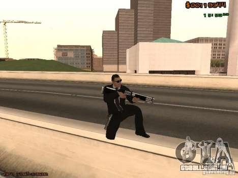 Gray weapons pack para GTA San Andreas terceira tela
