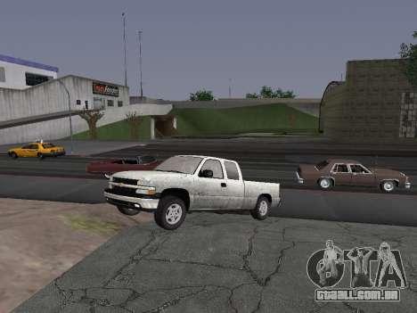 Chevorlet Silverado 2000 para GTA San Andreas esquerda vista