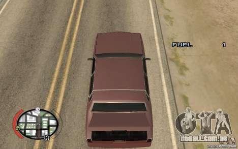 Trunk Hide para GTA San Andreas segunda tela