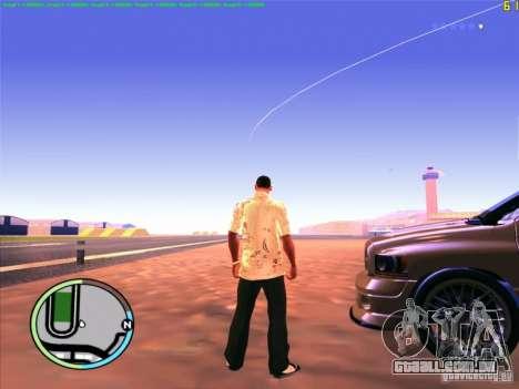 FPS De-Limiter CLEO para GTA San Andreas por diante tela