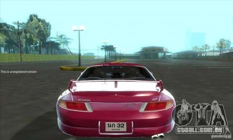 Mitsubishi FTO GP Version R 1998 para GTA San Andreas vista direita