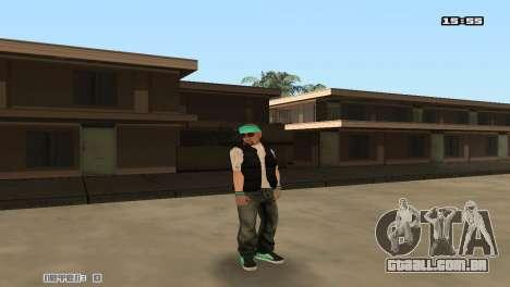 Construir peles Rifa para GTA San Andreas quinto tela