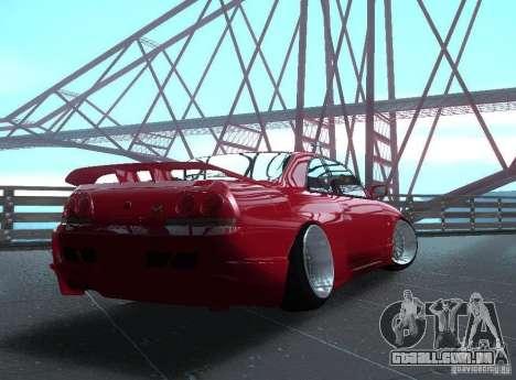 Nissan Skyline R33 para GTA San Andreas vista direita