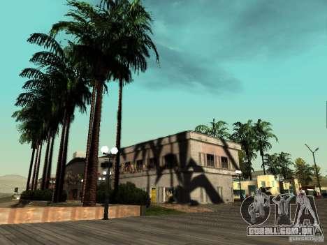 ENBSeries v1.2 para GTA San Andreas por diante tela