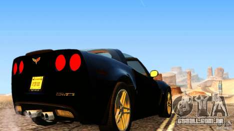 Direct R V1.1 para GTA San Andreas quinto tela