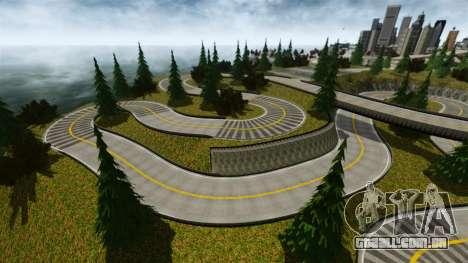 Edem Hill Drift Track para GTA 4 por diante tela