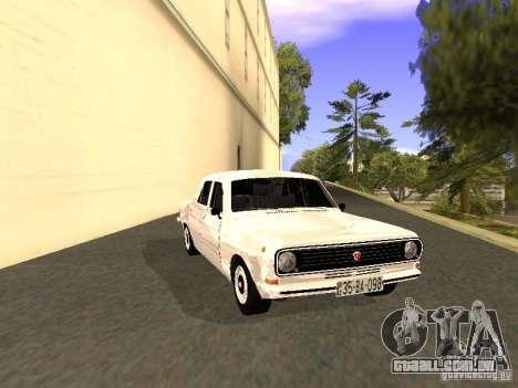 GAZ 24-10 para GTA San Andreas traseira esquerda vista