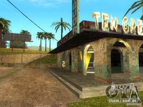 Negócios Cj v 1.0 para GTA San Andreas terceira tela