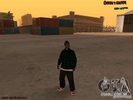Grove Street Family para GTA San Andreas terceira tela
