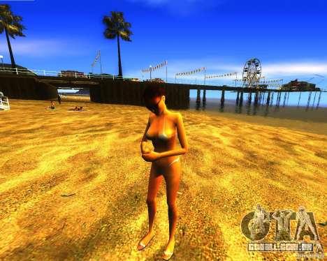 Salvação do homem na praia para GTA San Andreas terceira tela