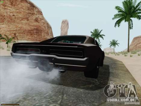 Dodge Charger 1969 para GTA San Andreas esquerda vista