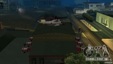 Estação de fogo de avivamento em San Fierro v 2. para GTA San Andreas terceira tela