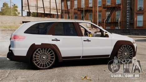 Fiat Palio Adventure Locker Evolution para GTA 4 esquerda vista