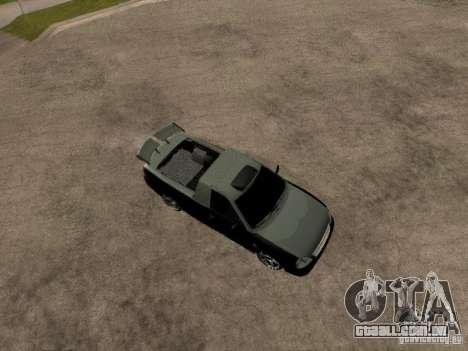 Lada Priora Pickup para GTA San Andreas vista direita