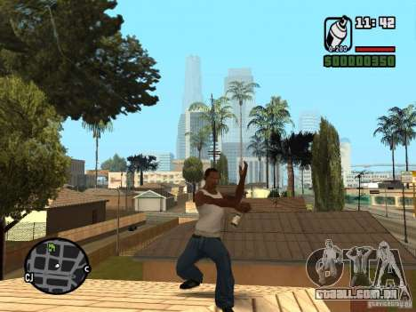 Lata de spray para GTA San Andreas terceira tela