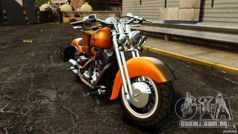Harley Davidson Fat Boy Lo Vintage para GTA 4