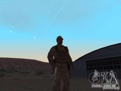 Um soldado soviético pele para GTA San Andreas segunda tela