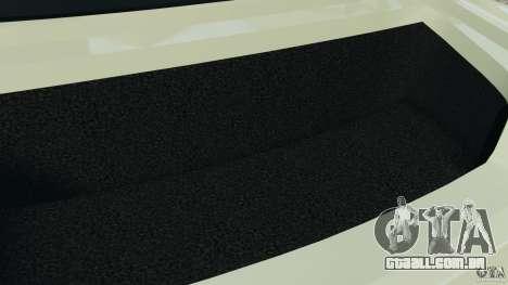 Nissan GT-R 2012 Black Edition para GTA 4 vista inferior