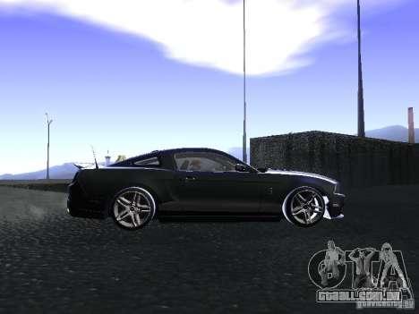 Ford Mustang Shelby GT500 para GTA San Andreas vista interior