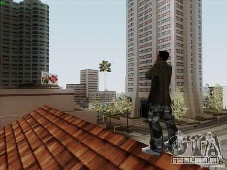 Gentleman Dance Animation para GTA San Andreas quinto tela