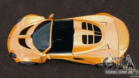 Hennessey Venom GT Spyder para GTA 4 vista direita