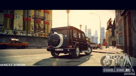 Mercedes-Benz G500 Beredskapstroppen para GTA 4 vista direita