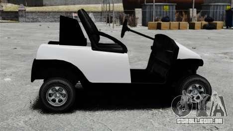 Caddy Unity para GTA 4 esquerda vista