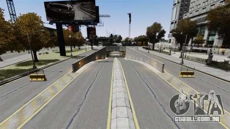 Corrida de rua para GTA 4 por diante tela